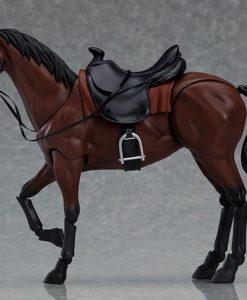 Original Character Figma Action Figure Horse ver. 2 (Chestnut) 19 cm
