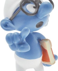 The Smurfs Collector Collection Statue Brainy Smurf 15 cm
