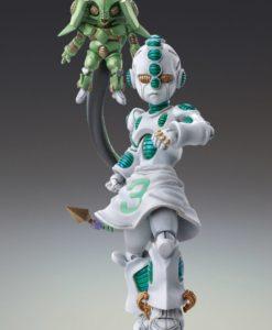JoJo's Bizarre Adventure Super Action Action Figure Chozokado (Ec Act 2 & Ec Act 3) 9 cm