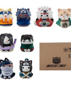 Naruto Shippuden Nyaruto! Trading Figure Come Here Sasuke-kun Limited Set 3 cm