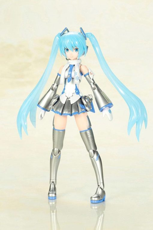 Hatsune Miku Frame Arms Girl Plastic Model Kit Snow Miku 15 cm