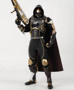 Destiny 2 Action Figure 1/6 Hunter Sovereign Golden Trace Shader 30 cm