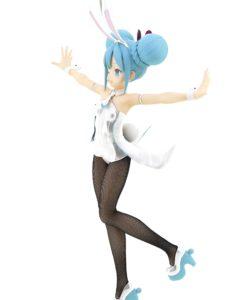Vocaloid BiCute Bunnies PVC Statue Hatsune Miku White Ver. 31 cm