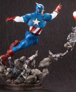 Marvel Comics Fine Art Statue 1/6 Captain America 36 cm