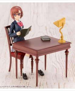 Sousai Shojo Teien Model Kit Accesoory Set 1/10 After School Retro Desk 9 cm