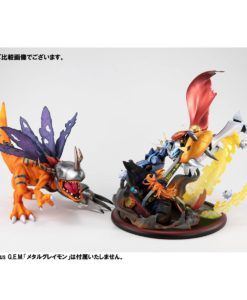 Digimon Adventure: Children's War Game! VS Series PVC Statue Omegamon vs Diabolomon 34 cm