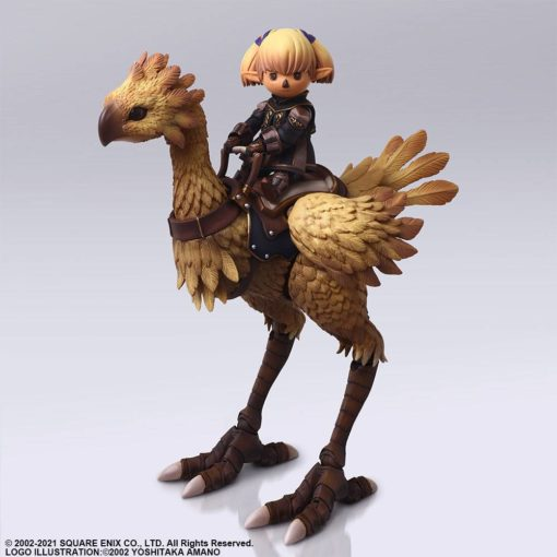 Final Fantasy XI Bring Arts Action Figures Shantotto & Chocobo 8 – 18 cm