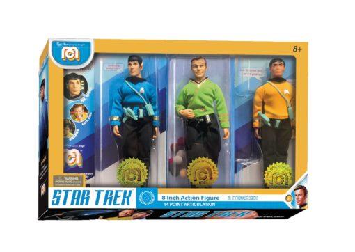 Star Trek Action Figures 3-Pack Spock, Kirk & Chekov 20 cm
