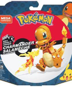Pokémon Mega Construx Wonder Builders Construction Set Charmander 10 cm