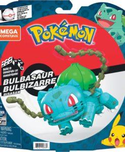 Pokémon Mega Construx Wonder Builders Construction Set Bulbasaur 10 cm