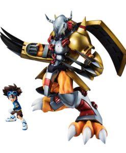 Digimon Adventure G.E.M. Series PVC Statue Wargreymon & Taichi 25 cm